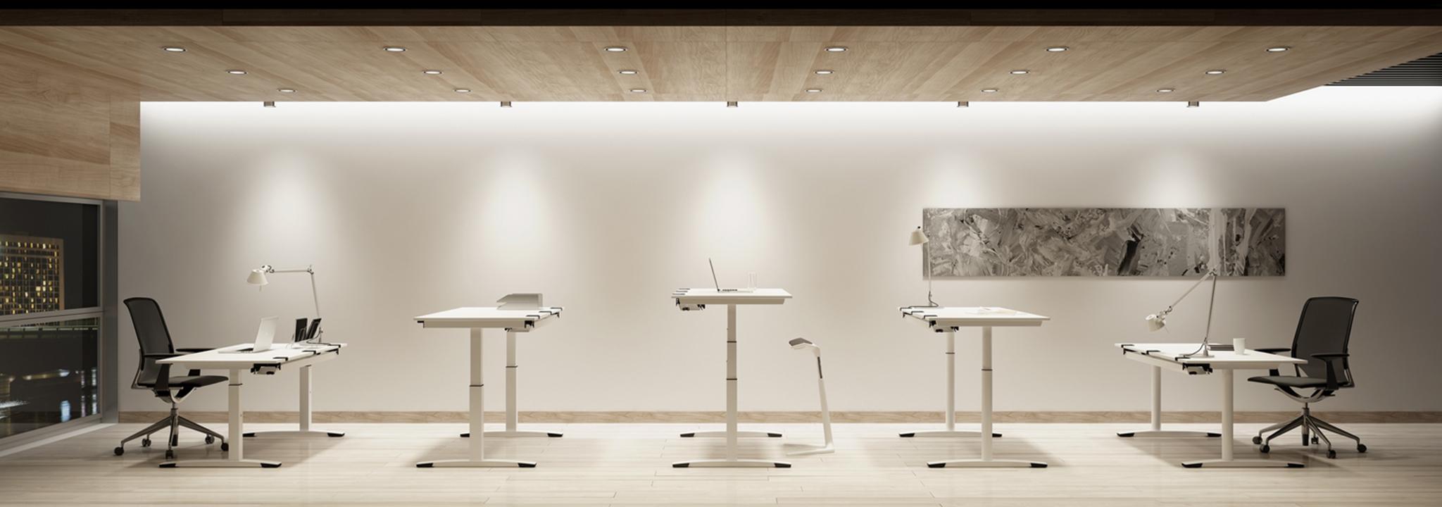 ALLTEC Bürokonzept gestaltet das ergonomische Büro