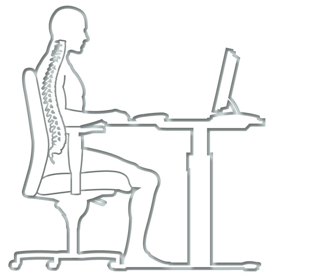 Ergonomische Sitzeinstellung